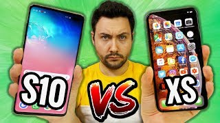 Galaxy S10 VS iPhone XS : le Gros Comparatif !