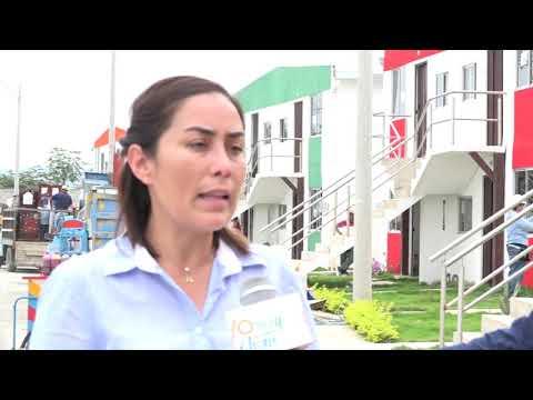 Microinformativo Yo Soy de Chone - Damnificados con nueva casa en San Cayetano