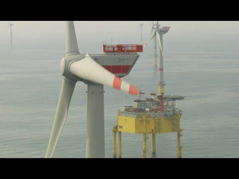 Offshore-Windpark Global Tech I in Betrieb genommen
