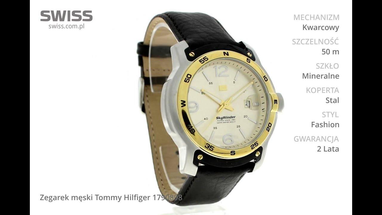 9e441209f www.swiss.com.pl - Zegarek męski Tommy Hilfiger 1790898 - YouTube