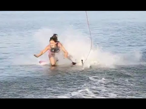wakeboarding crashes ouch youtube