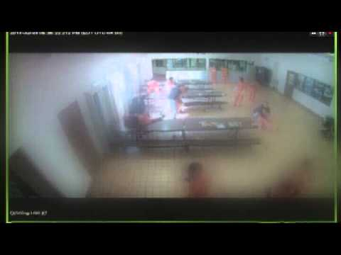RAW VIDEO: Juvenile Detention Fight