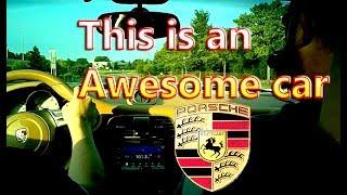 Driving a Porsche 911