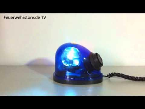 blaulicht mit integrierter sirene partyspa messen. Black Bedroom Furniture Sets. Home Design Ideas