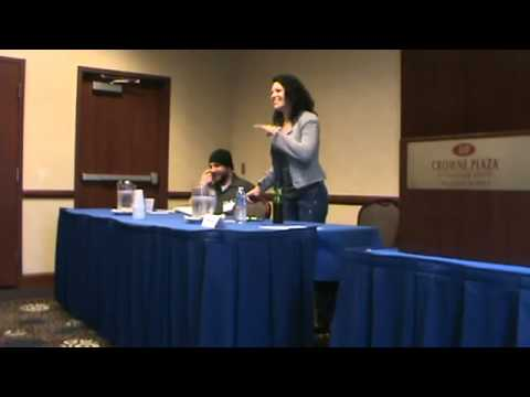 TIffany Shepis Panel Spring Horror Realm 2011