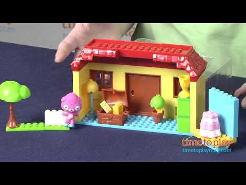 Mega Bloks Moshi Monsters Monster S House From Mega Brands Youtube