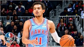 Trae Young drops 24 points to spoil Dennis Schroder's return to Atlanta | NBA Highlights