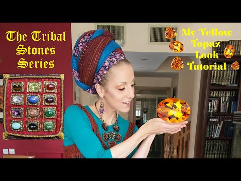 The Tribal Stones Series - Yellow Topaz