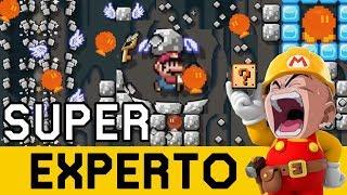 💣💥TODO EXPLOTA A MI ALREDEDOR 💥💣 - SUPER EXPERTO NO SKIP   Super Mario Maker - ZetaSSJ