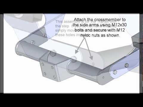 Anker Towbars Transit Van 2000 on towbar video instructions 1095  YouTube