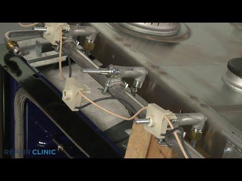 Right Front/Center Burner Valve - Kitchenaid Double Oven Gas Range (Model #KFGD500ESS04)
