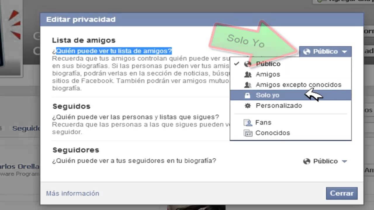 Como poner amigos privados facebook 2014 youtube - Como poner una mosquitera ...
