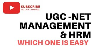 Ugc-Net Managment (17) and HRM /Labour  welfare (code-55) which paper is Easy to Qualify