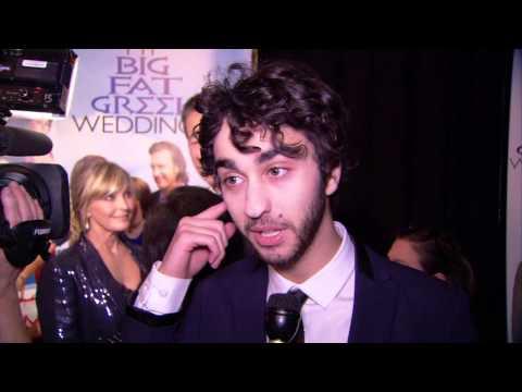 My Big Fat Greek Wedding 2: Alex Wolff Red Carpet Movie Premiere Interview