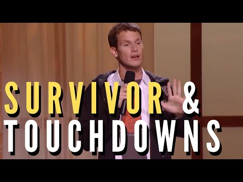 Daniel Tosh - Survivor & Celebrating A Touchdown