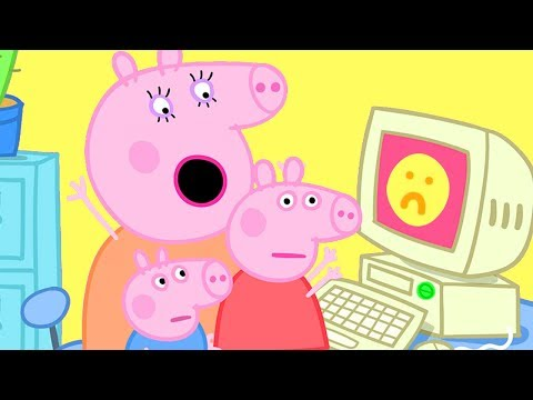 Peppa Pig Official Channel | Mummy Pig Is Working From Home