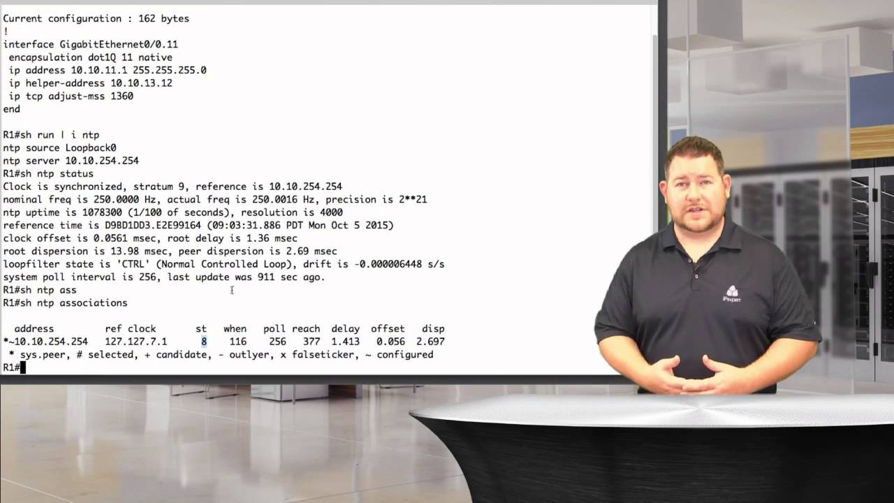 CCIE Collaboration Lab Training VOD :: NTP