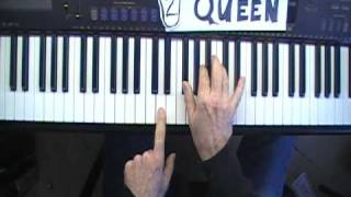 "How to Play ""Killer Queen"" on piano Session 2"
