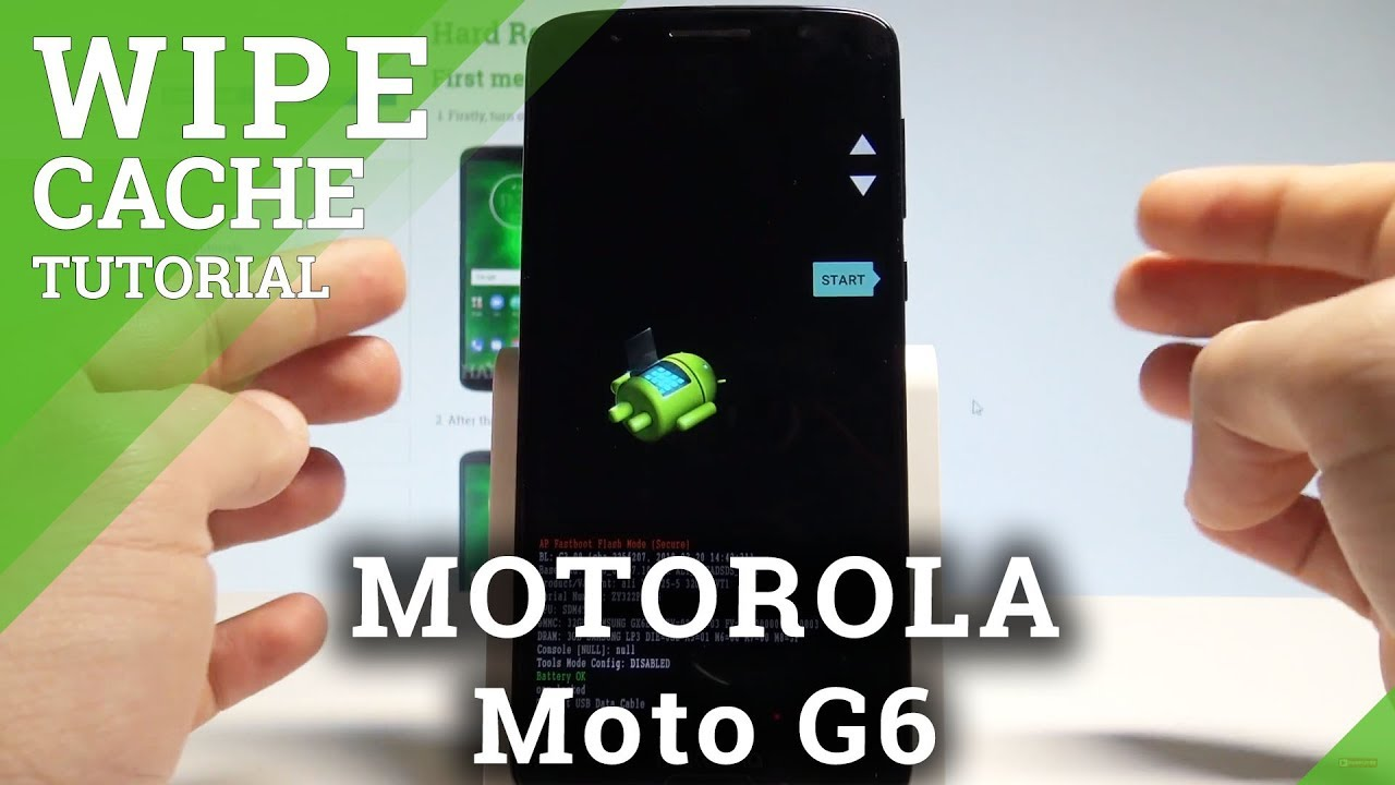 How to Wipe Cache on MOTOROLA Moto G6 - Format Cache Partition  |HardReset Info