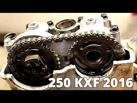 250 KXF 2016 Demontage Complet Moteur Part 1 SCUMMYBRAAP518