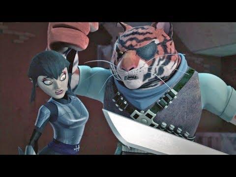 Karai VS Tiger Claw   Teenage Mutant Ninja Turtles Legends