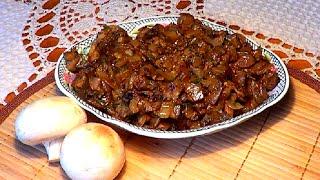 Рецепты из баклажанов. Жареные в сметане как грибы.