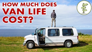 Repeat youtube video How Much Does Van Life Cost & Our Surprising 6 Month Budget!$