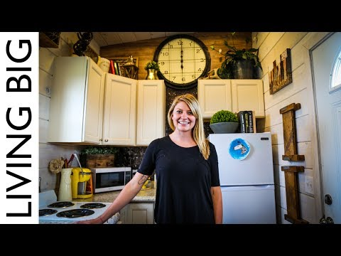 Young Woman Escapes Crazy Rent With Tiny House