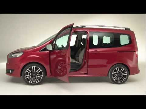 nouveau ford tourneo courier youtube. Black Bedroom Furniture Sets. Home Design Ideas