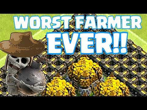 Clash Of Clans - TH8 ZERO TO CHAMPS (Worst Farmer ever!)