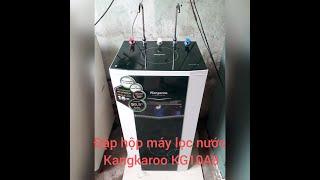 Lắp đặt máy lọc nước nóng lạnh RO kangkaroo KG 10A3