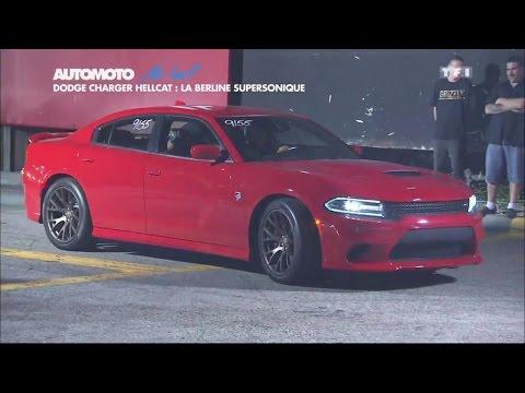 Dodge Charger Hellcat : la berline supersonique
