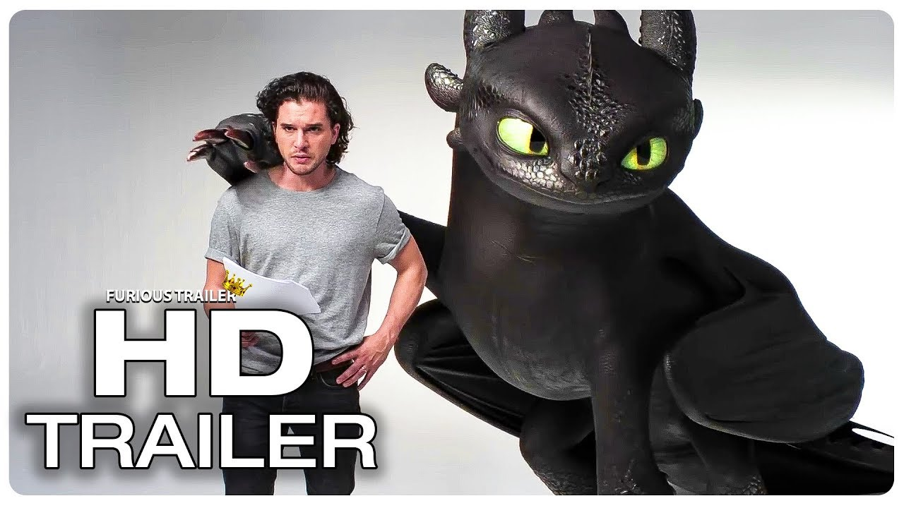 Download Kit Harington vs Toothless Funny Scene - HOW TO TRAIN YOUR DRAGON 3 (2019) Movie CLIP HD