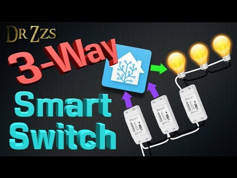 3-way Smart Switch! THE easy and cheap way! - YouTube