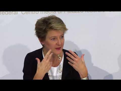 05.07.2017 - BR Sommaruga zu: 1.Initiative Schweizer Recht 2. Gesetz über Gleichstellung