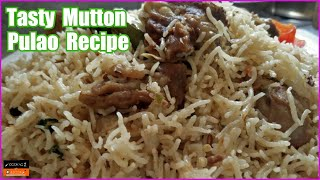 Tasty Mutton Pulao Recipe in Pressure Cooker | Yakhni Rice Recipe Cooking with Asifa
