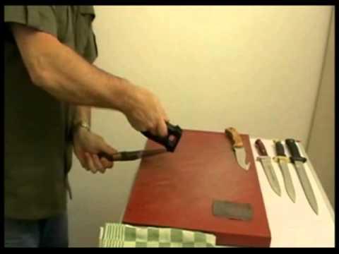 Comment aiguiser ou aff ter un couteau de chasse avec easysharp youtube - Comment bien aiguiser un couteau ...
