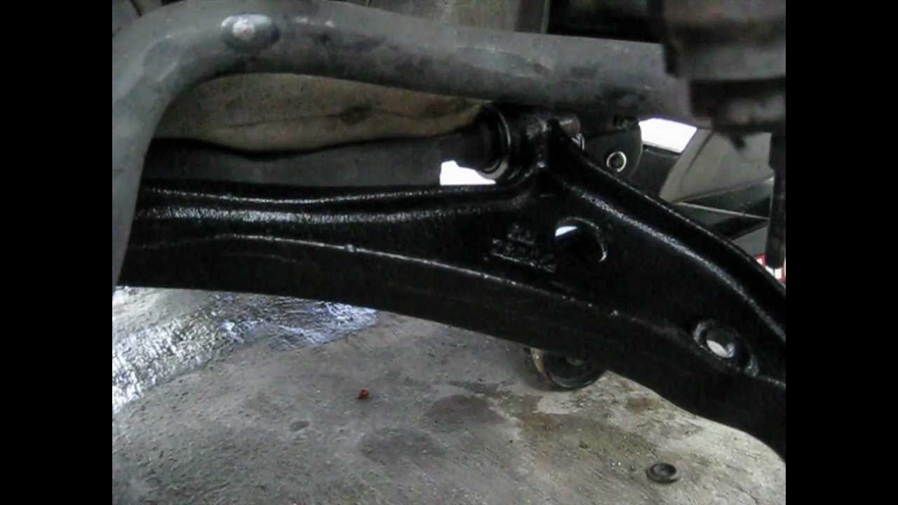 2002 Nissan Quest Control Arm Replace R Passenger Side
