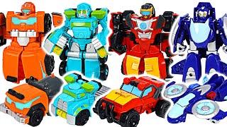 Transformers Rescue Bots Academy Rescue Team! Go! Go! DuDuPopTOY