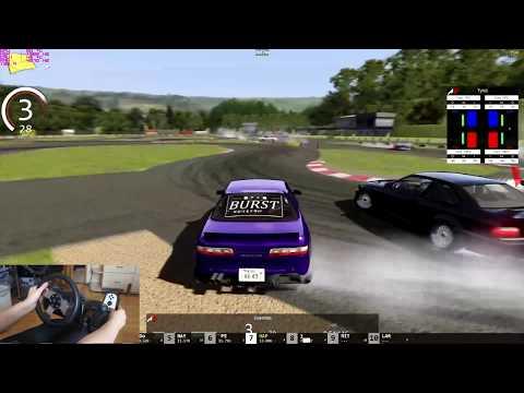 Assetto Corsa Drift With Playseat + Logitech G27 Wheel Nissan 240sx 1.5jz