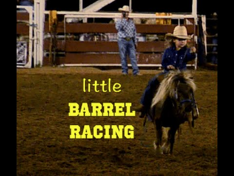 Wendy - Tiny Tots And Pint Sized Ponies Barrel Racing!