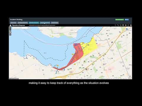 Esri Canada's Incident Briefing App