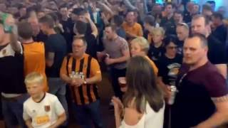 Hull City play off final 2016 crystal club pre game