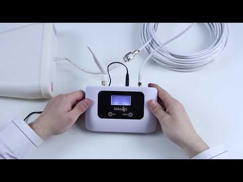 Ampli antenne 3G Nikrans LCD-1503G de MyAmpiliers
