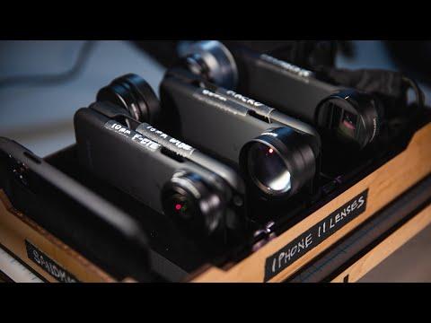 Testing iPhone 11 Lens Attachments + Custom Storage Box!