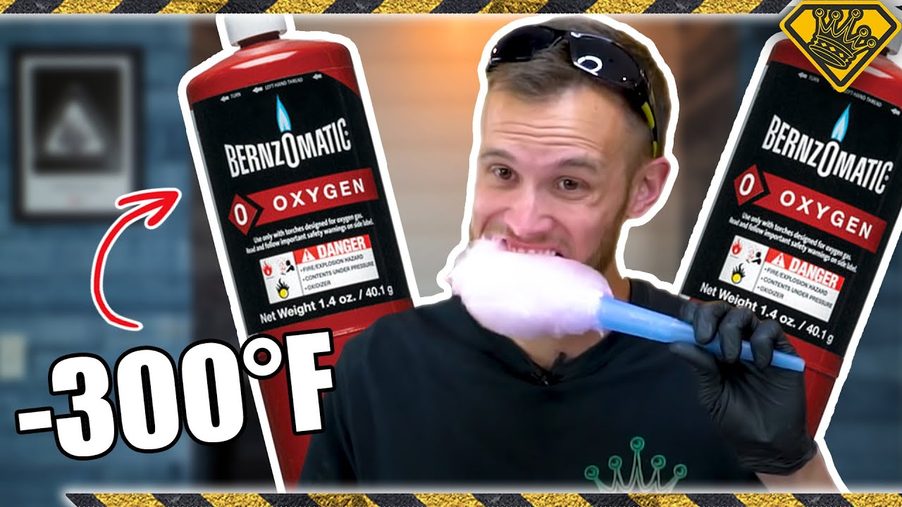 Liquid Oxygen Cotton Candy Isn't Safe!