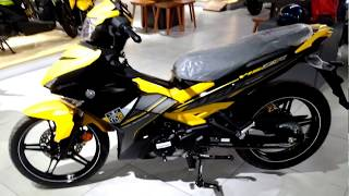 Yamaha Y15ZR new colour walkaround (Yellow) - 2018