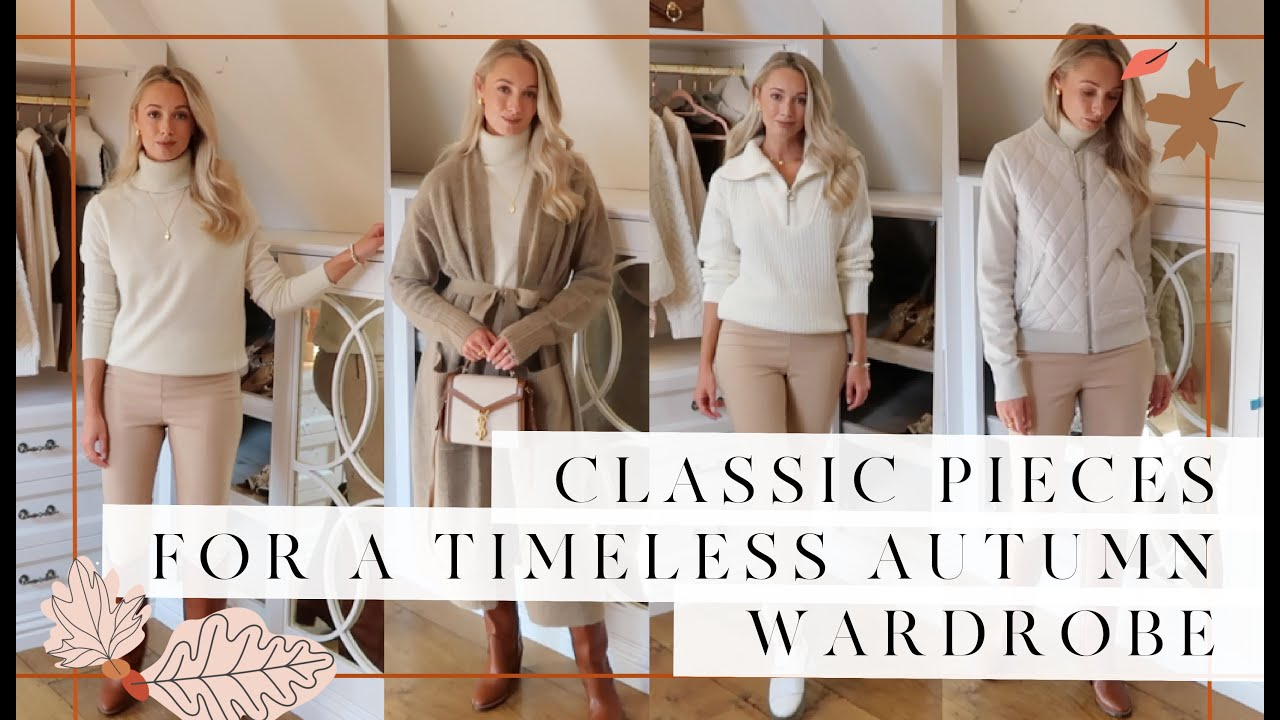 9 CLASSIC PIECES FOR A TIMELESS AUTUMN WARDROBE // 🍂 #FashionMumblrAutumnEdit 🍂