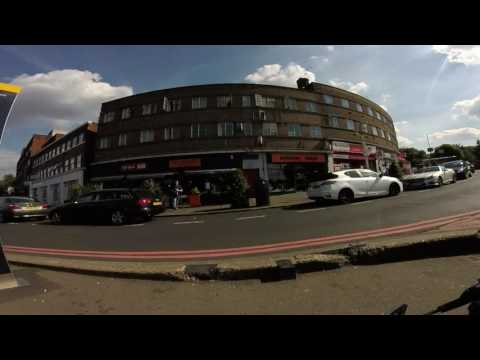South on the North Circular Road London