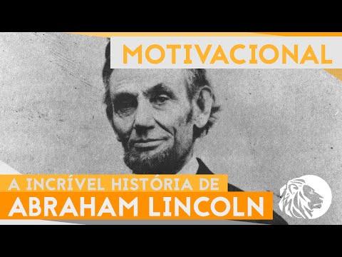 ELE NUNCA DESISTIU - A história de Abraham Lincoln [Biografia]